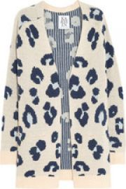 Leopard Cardigan by Zoe Karssen at Net A Porter