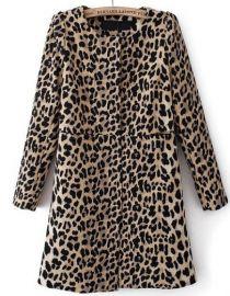 Leopard Coat at She Inside