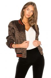 Leopard Jungle Bomber Jacket by Bailey 44 at Revolve