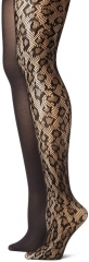 Leopard Net Tights by Betsey Johnson at Amazon