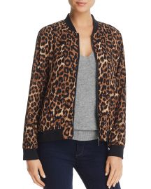 Leopard Print Bomber Jacket at Bloomingdales