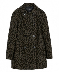 Leopard Print Coat at Chic Nova