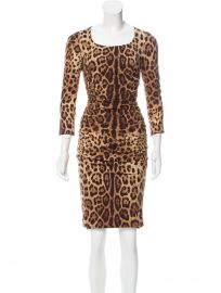 Leopard Print Dress by Dolce & Gabbana at The Real Real