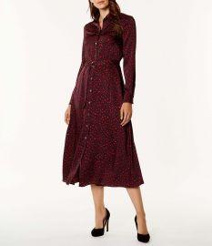 Leopard Print Maxi Dress at Karen Millen