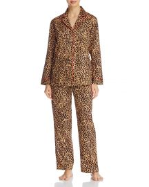 Leopard Print PJ Set at Bloomingdales