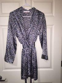 Leopard Print Robe at Victorias Secret