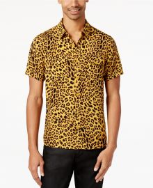 Leopard-Print Shirt by Guess at Macys