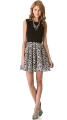 Leopard print Jeannie dress by DvF at Shopbop