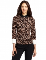 Leopard print cardigan like Lilys at Amazon