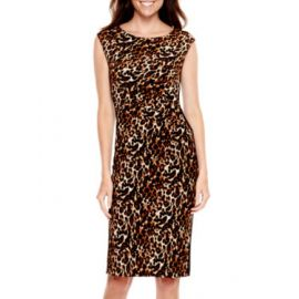 Leopard print sheaht at JC Penney