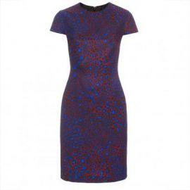 Leopard print shift dress at Paul Smith