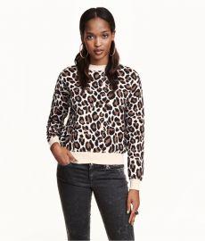 Leopard print sweater at H&M