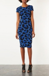 Leopard spot dress by Topshop at Nordstrom