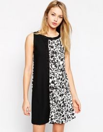 Leopard swing dress at Asos