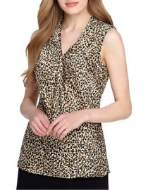 Leopard top at Lord & Taylor