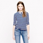 Leslie's striped sweater at J Crew at J. Crew