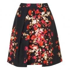 Leticia Optic Floral Skirt at LK Bennett
