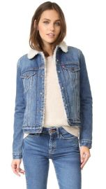 Levi  039 s Authentic Sherpa Trucker Jacket at Shopbop