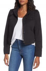 Levi s   Crop Military Jacket at Nordstrom
