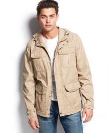 Levis 4-Pocket Hooded Field Jacket at Macys