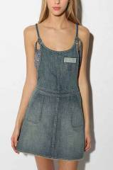 Levis denim Apron Dress at Urban Outfitters