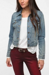 Levis denim trucker jacket at Urban Outfitters