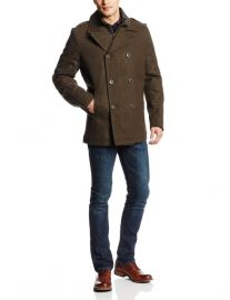 Levis mens peacoat at Amazon