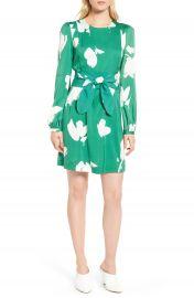Lewit Floral Stretch Silk Dress at Nordstrom