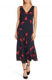 Lewit Print Midi Dress at Nordstrom