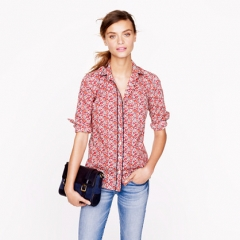 Liberty Shirt in Betsy Ann Floral at J. Crew