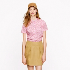 Liberty peter pan shirt at J. Crew