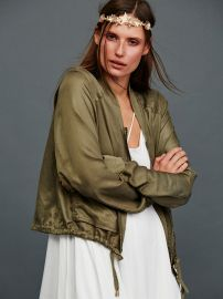 Light and Easy Bomber at Free People