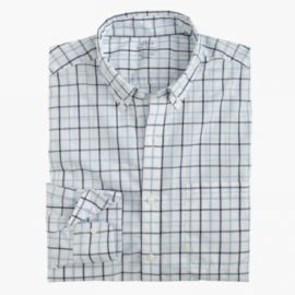 Lightweight Secret Wash shirt in tattersall at J. Crew