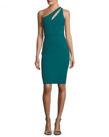 Likely Allison One-Shoulder Ponte Sheath Cocktail Dress   Neiman at Neiman Marcus