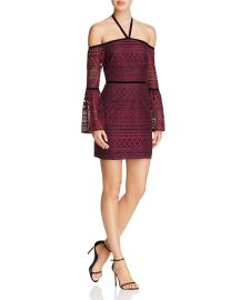 Likely Kakki Cold-Shoulder Dress at Bloomingdales