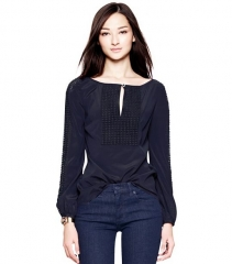 Lillian blouse at Tory Burch