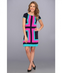 Lilly Pulitzer Isabella Sweater Dress True Navy Hopeless Romantic at Zappos