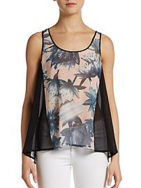 Lily Collage Tank by French Connection at Saks Off 5th