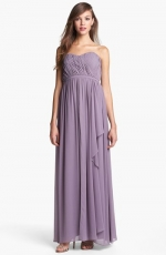 Lily draped gown by Donna Morgan at Nordstrom