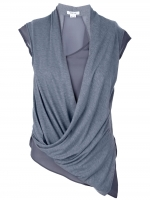 Lily's grey top by Helmut Lang at Farfetch
