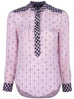 Lily's pink printed shirt at Tessabit