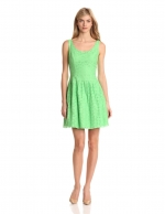 Lime green dress by Lilly Pulitzer at Amazon