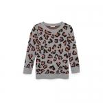 Lina leopard print sweater at Club Monaco at Club Monaco