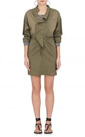 Lindsey Cotton-Blend Shirtdress by Isabel Marant Etoile at Barneys