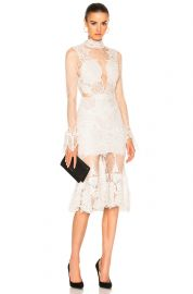Linear Dome Lace Dress by Jonathan Simkhai at Forward