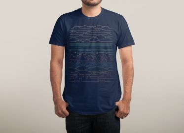 Linear Landscape Tshirt at Threadless