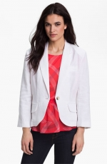 Linen jacket by Olivia Moon at Nordstrom