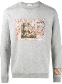 Lion Print Sweatshirt by Valentino at Farfetch