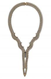 Lionette by Noa Sade   x27 Hudson  x27  Swarovski Crystal Statement Necklace at Nordstrom