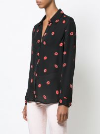 Lip Print by L\'Agence at Farfetch